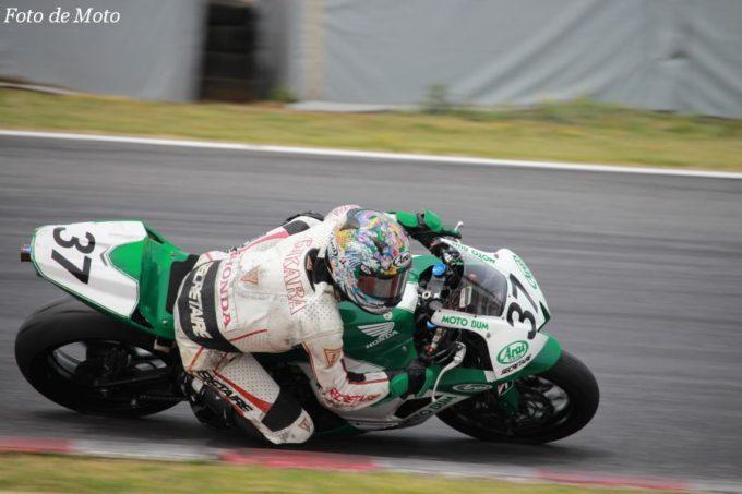 ST600 #37 MOTO BUM HONDA 鈴木 力 Honda CBR600RR