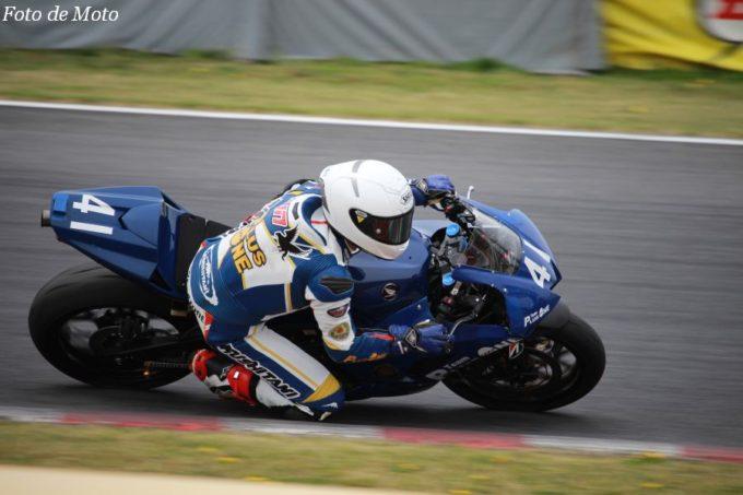 ST600 #41 TEAM PLUSONE 田所 隼 Honda CBR600RR