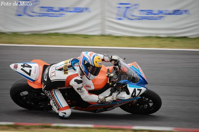 ST600 #47 D;REX Racing Team 豊田 浩史 Yamaha YZF-R6