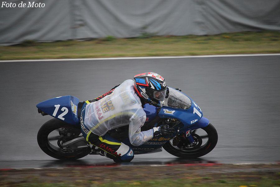 J-GP3 #12 TEAM PLUSONE 船田 俊希 Honda NSF250R
