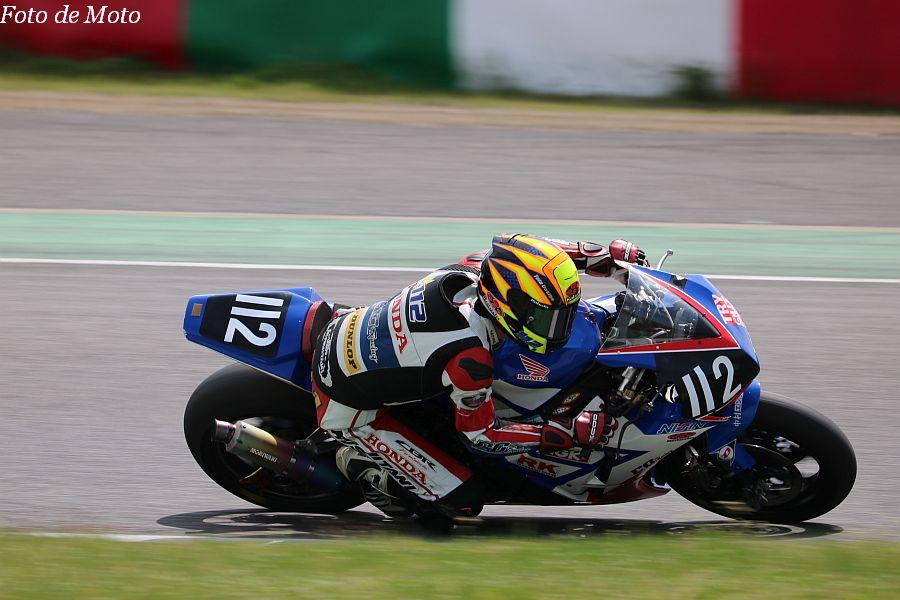 JSB1000 #112 Honda EG Racing 本田 恵一 Honda CBR1000RR