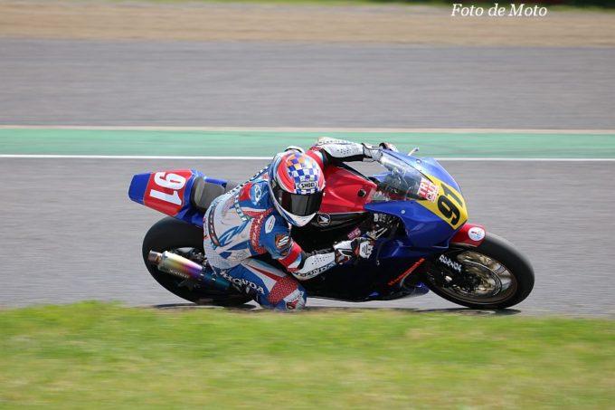 JSB1000 #91 Honda緑陽会熊本レーシング 井上 拓海/北折 淳 Honda CBR1000RR