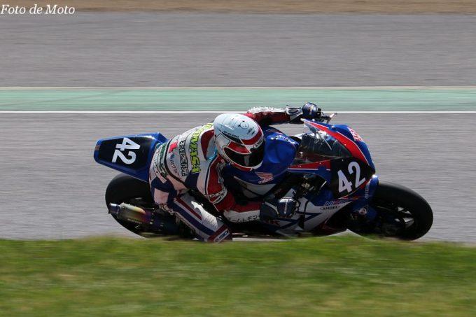 JSB1000 #42 Honda EG Racing 中村 知雅 Honda CBR1000RR