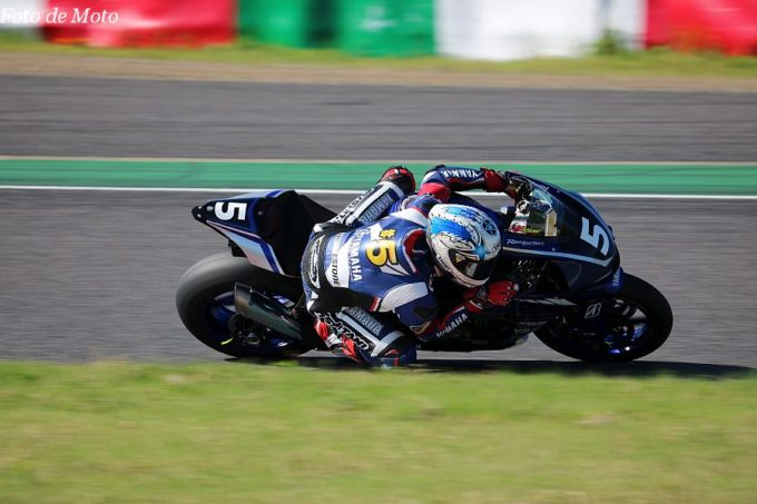 JSB1000 #5 YAMAHA FACTORY RACING TEAM  野左根 航汰  YAMAHA YZF-R1