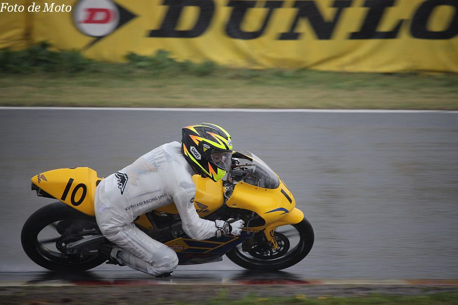 J-GP3 #10 チームライフ·ドリーム北九州 山本 恭裕 Honda NSF250R