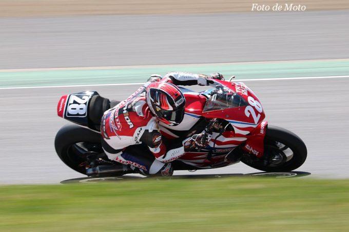 JSB1000 #28 Honda熊本レーシング 吉田 光弘 Honda CBR1000RR