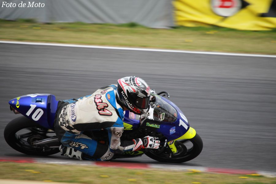J-GP3 #10 FLEX Racing TEAM 船田 俊希 Honda NSF250R