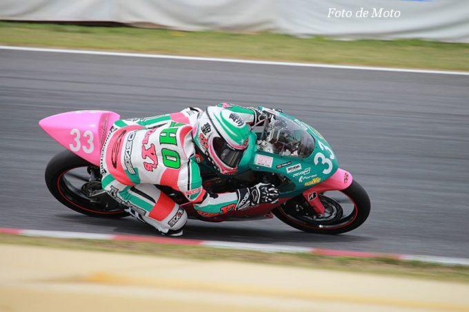 J-GP3 #33 CLUBY's&J・BATTLE 長谷川 聖 Honda NSF250R