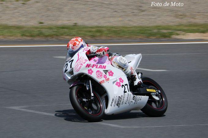 JP250(N) #27 Team千葉北☆N-PLAN 石井 千優 Yamaha YZF-R25