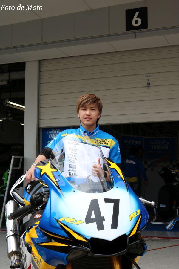 JSB1000 #47 Webike チームノリックヤマハ 上和田 拓海 YAMAHA YZF-R1