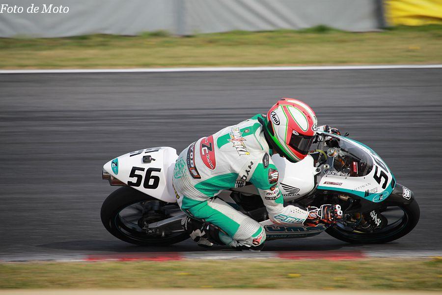 J-GP3 #56 Team P.MU 7C 小室 旭 Honda NSF250R