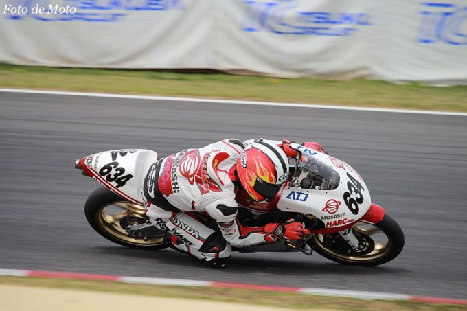 J-GP3 #634 MuSASHi RT ハルク・プロ 栗原 佳祐 Honda NSF250R