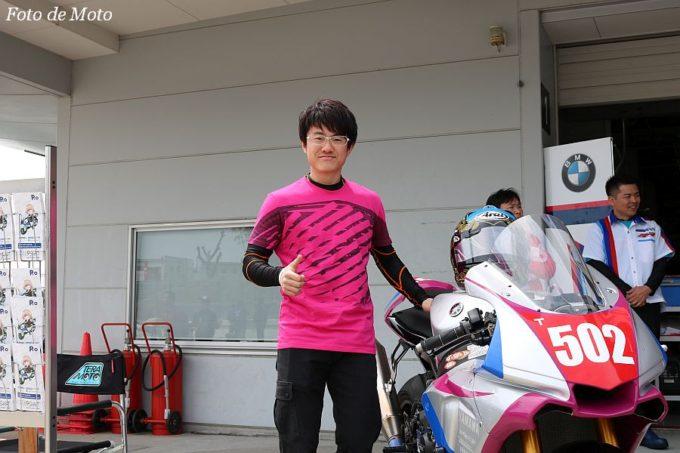 JSB1000 #502 NCXX RACING 長尾 健吾/吉田 忠幸 YAMAHA YZF-R1