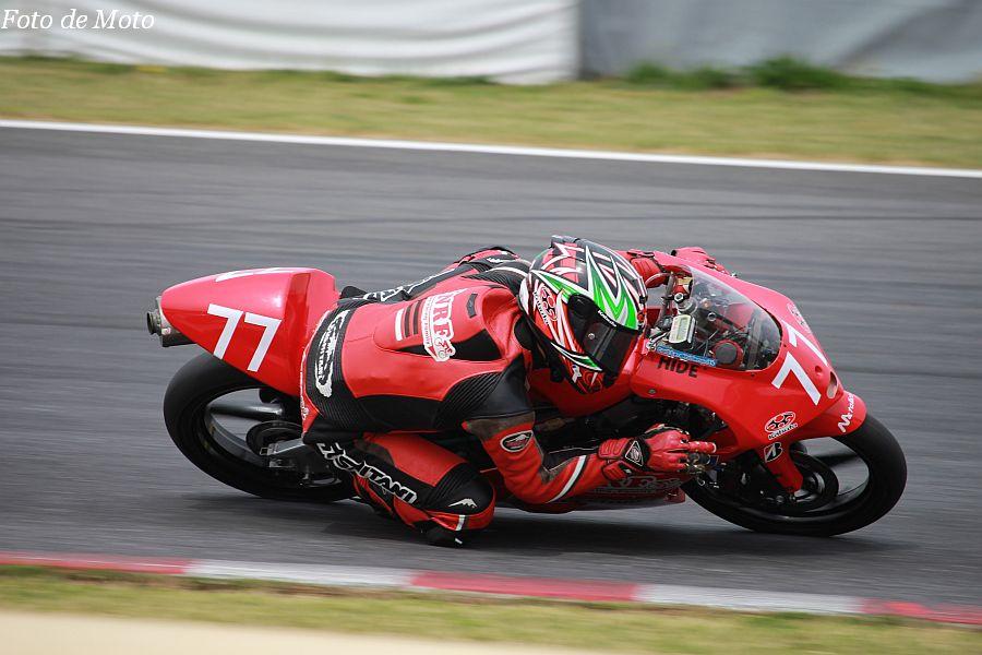 J-GP3 #77 ノザワレーシングファミリー 野澤 秀典 Honda NSF250R