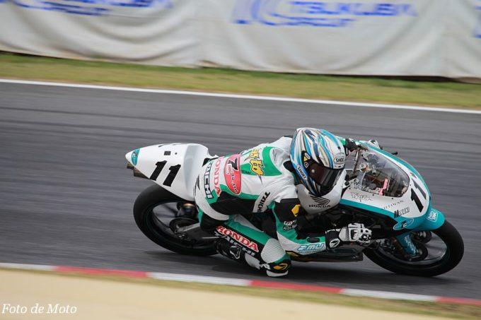J-GP3 #11 Team P.MU 7C 関野 海斗 Honda NSF250R