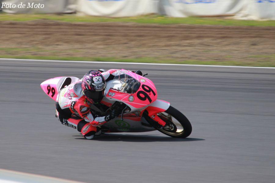J-GP3 #99 Team Reina with O-TEC SUZUKA 白石 玲菜 Honda NSF250R