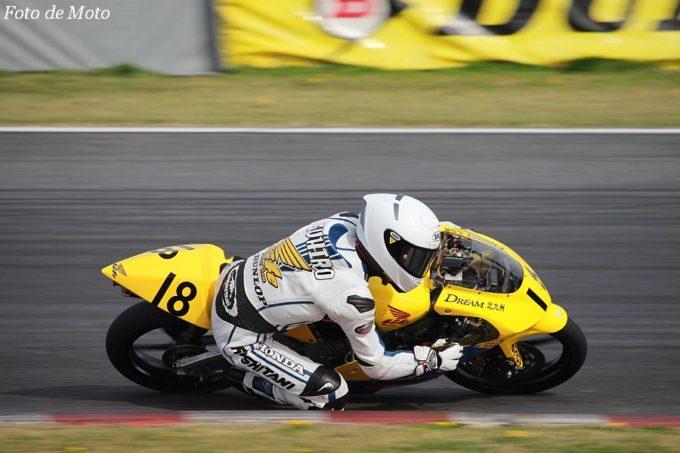 J-GP3 #18 チームライフ・ドリーム北九州 山本 恭裕 Honda NSF250R