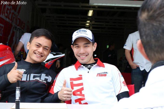 JSB1000 #70 SatuHATI.Honda Team Asia Md.Zaghwan Zaidi/Ratthapong Wilairot Honda CBR1000RR