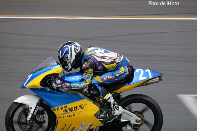 J-GP3 #21 FTR·タイヤナビ·(株)遠藤住宅 畑中 要 Honda NSF250R