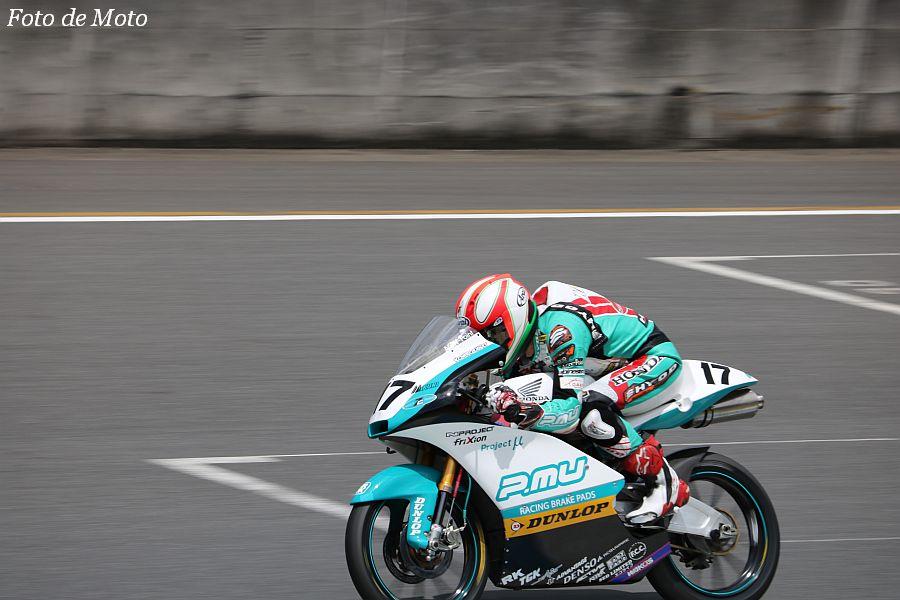 J-GP3 #17 Team P.MU 7C 小室 旭 Honda NSF250R