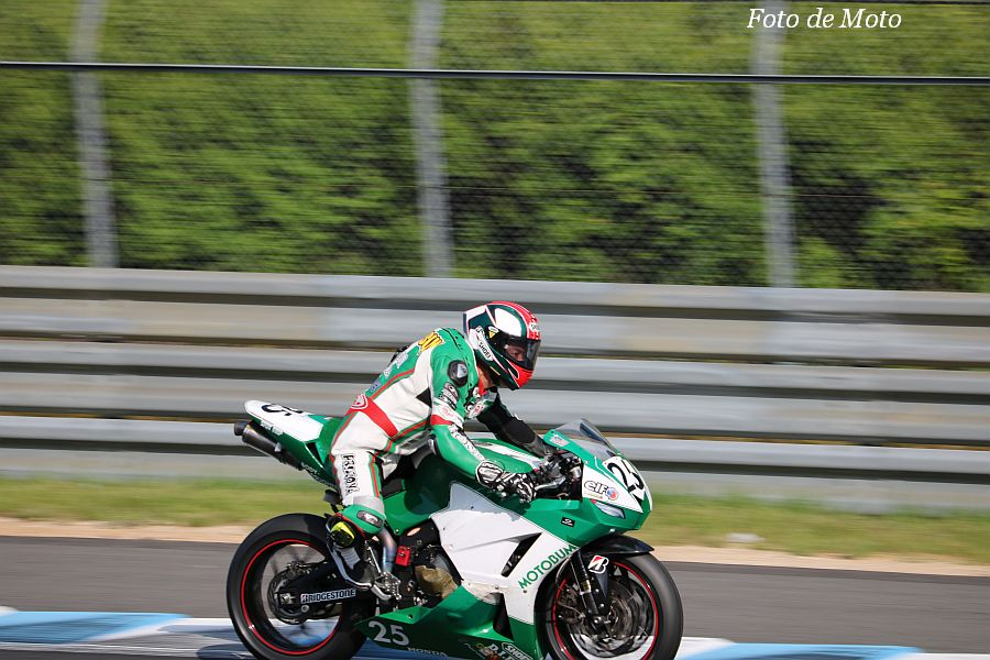 ST600 #25 MOTO BUM+SAI 松川 泰宏 Honda CBR600RR