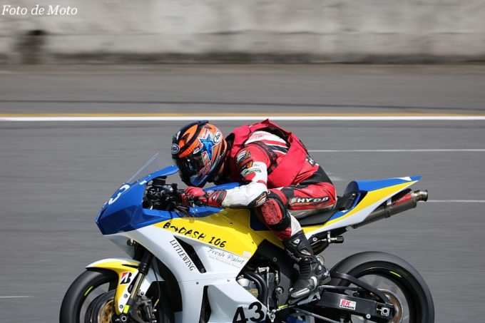 ST600 #43 B-dash106+Little Wing 森中 忍 Honda CBR600RR