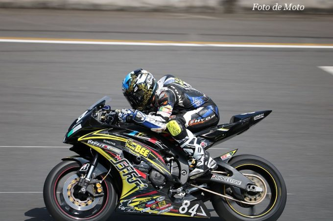 ST600 #84 TEAM けんけん with BEE  長尾 健吾 Yamaha YZF-R6