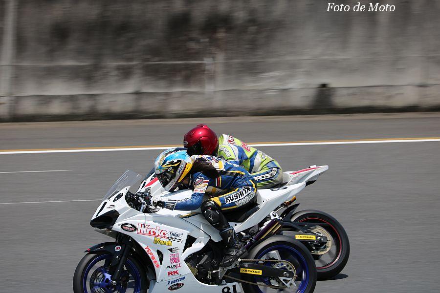 JP250(N) #81 RAPID BIKE team miu 中原 美海 Yamaha YZF-R25
