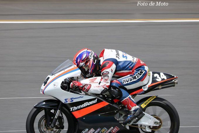J-GP3 #34 TEAM SRS-MOTO 中島 元気 Honda NSF250R