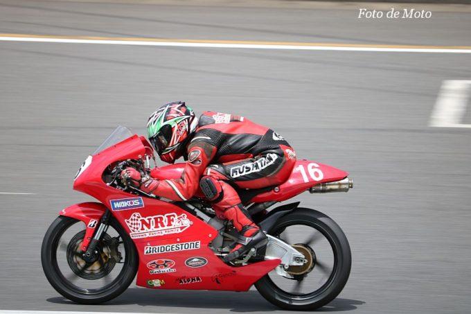 J-GP3 #16 ノザワレーシングファミリー 野澤 秀典 Honda NSF250R