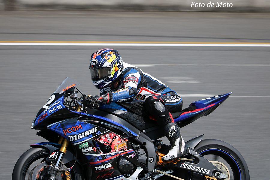 ST600 #52 51ガレージ チームイワキ 岡本 裕生 Yamaha YZF-R6