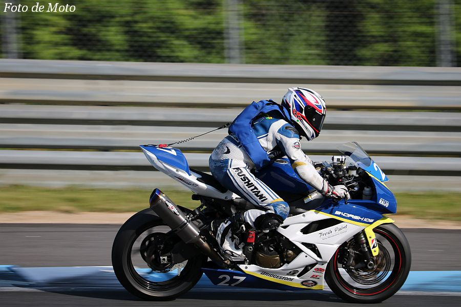 ST600 #27 B~DASH106 Snail Racing 大野 英樹 Kawasaki ZX-6R