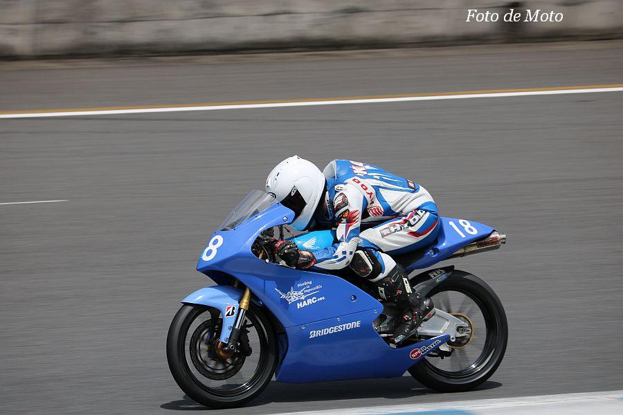 J-GP3 #18 team hiro'ck 大澤 恒貴 Honda NSF250R