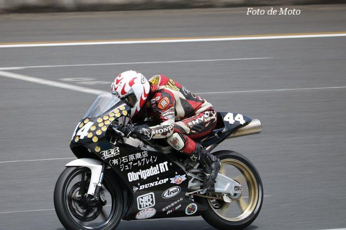 J-GP3 #44 Obrigada!RTwithYMK&チャウ 小沢 良美 Honda NSF250R