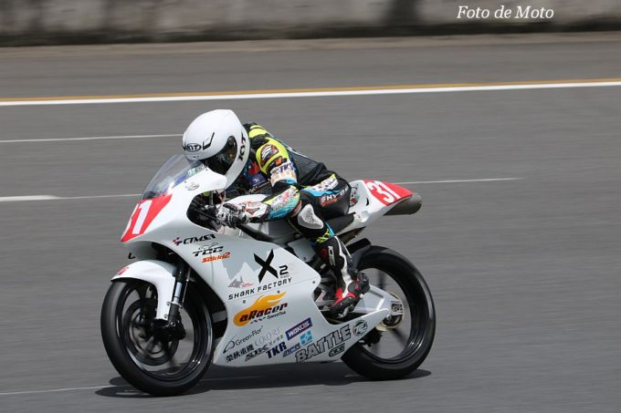 J-GP3 #31 SHARK FACTORY aRacer BATTLE 荘 安育 Honda NSF250R