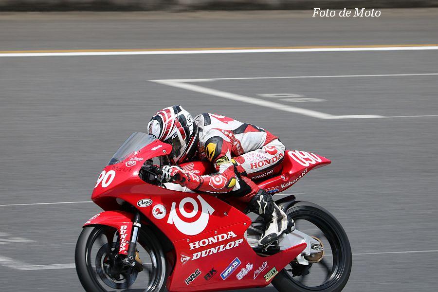 J-GP3 #090 テルル·MotoUP 山中 琉聖 Honda NSF250R