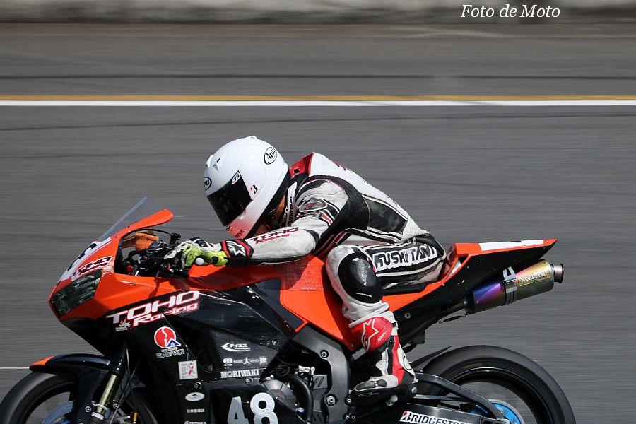 ST600 #48 TOHO Racing Club 行村 和樹 Honda CBR600RR