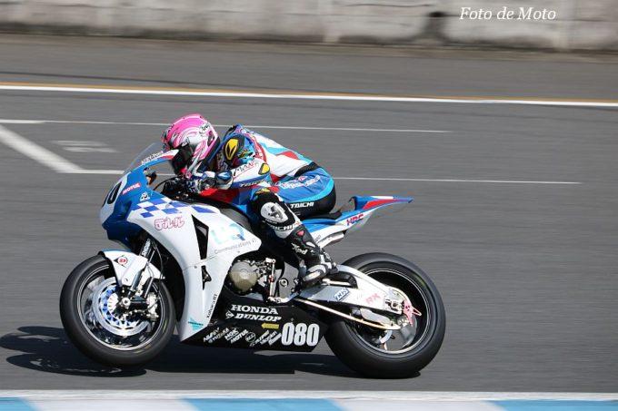 JSB1000 #080 UQ & テルル · Kohara RT 渥美 心 Honda CBR1000RR