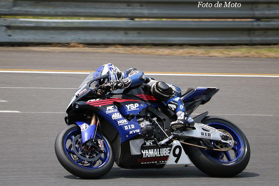 JSB1000 #9 YAMALUBE RACING TEAM 藤田 拓哉 Yamaha YZF-R1