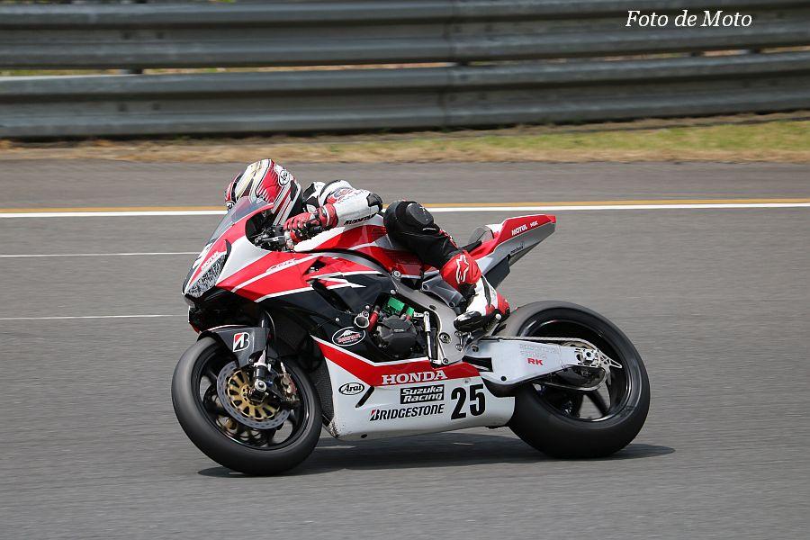 JSB1000 #25 Honda鈴鹿レーシングチーム 日浦 大治朗 Honda CBR1000RR