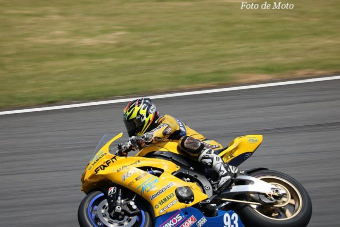 J-GP2 #93 AKENO SPEED·YAMAHA 稲垣 誠 Yamaha YZF-AS6