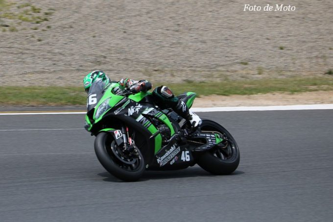 JSB1000 #46 Kawasaki Team GREEN 松﨑 克哉 Kawasaki ZX-10RR