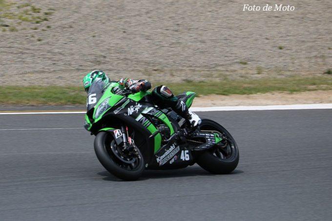 JSB1000 #46 Kawasaki Team GREEN 松﨑 克哉 Kawasaki ZX-10RR