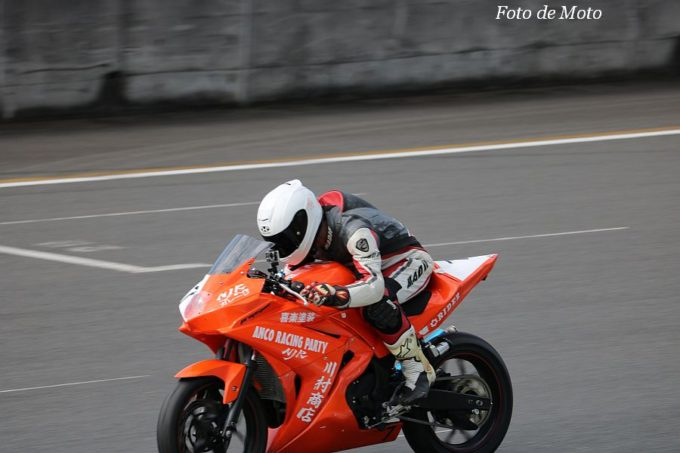 もて耐NST-R25 #7 NJR ANCO RACING PARTY 島崎 裕司/曽我辺 治/通 竜太/佐藤 直樹 Yamaha YZF-R25