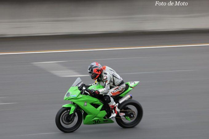 もて耐WS #36 APP RISE+ポンコツ  赤石 寿治/清水 雅文/林 正行 Kawasaki Ninja250SL