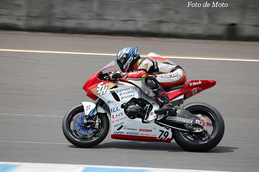 JSB1000 #79 Team SuP Dream Honda 伊藤 真一 Honda CBR1000RR
