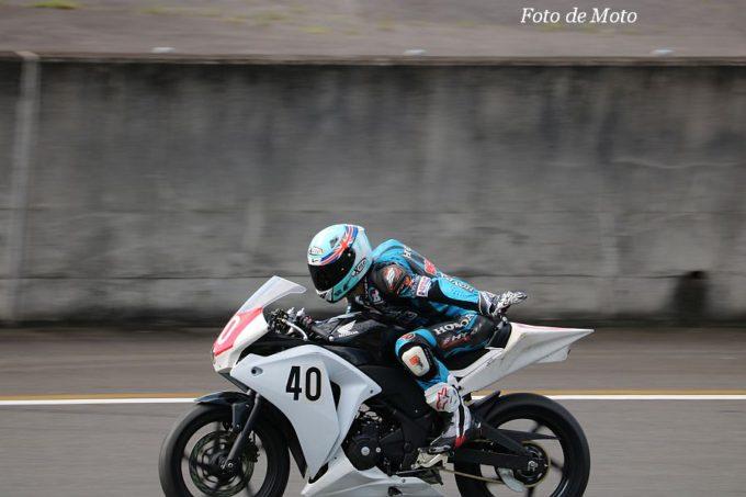 もて耐NST-CBR #40 料亭 明治屋 稲葉 奨太/鈴木 雅季/山谷 幸久/杉谷 宏 Honda CBR250R