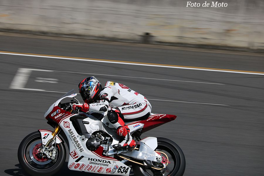 JSB1000 #634 MuSASHi RT HARC-PRO. Honda 高橋 巧 Honda CBR1000RR SP2