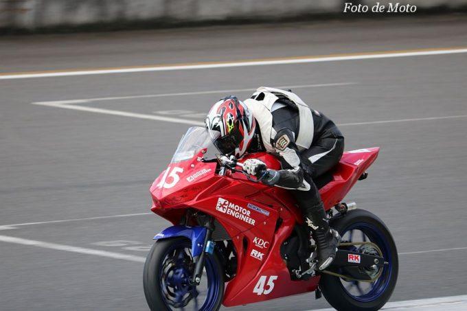 もて耐NST-R25 #45 Team Penguin YMT モトールエンジニア 永野間 幹生/並木 敏成/加藤 良拓 Yamaha YZF-R25