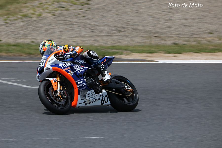JSB1000 #60 Titanium Power HOOTERS Racing 津田 一磨 Yamaha YZF-R1